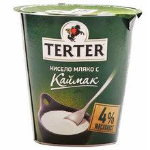 КРАВЕ КИСЕЛО МЛЯКО TERTER 4%